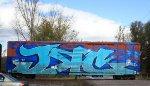 Fresh Graffiti....whole car!