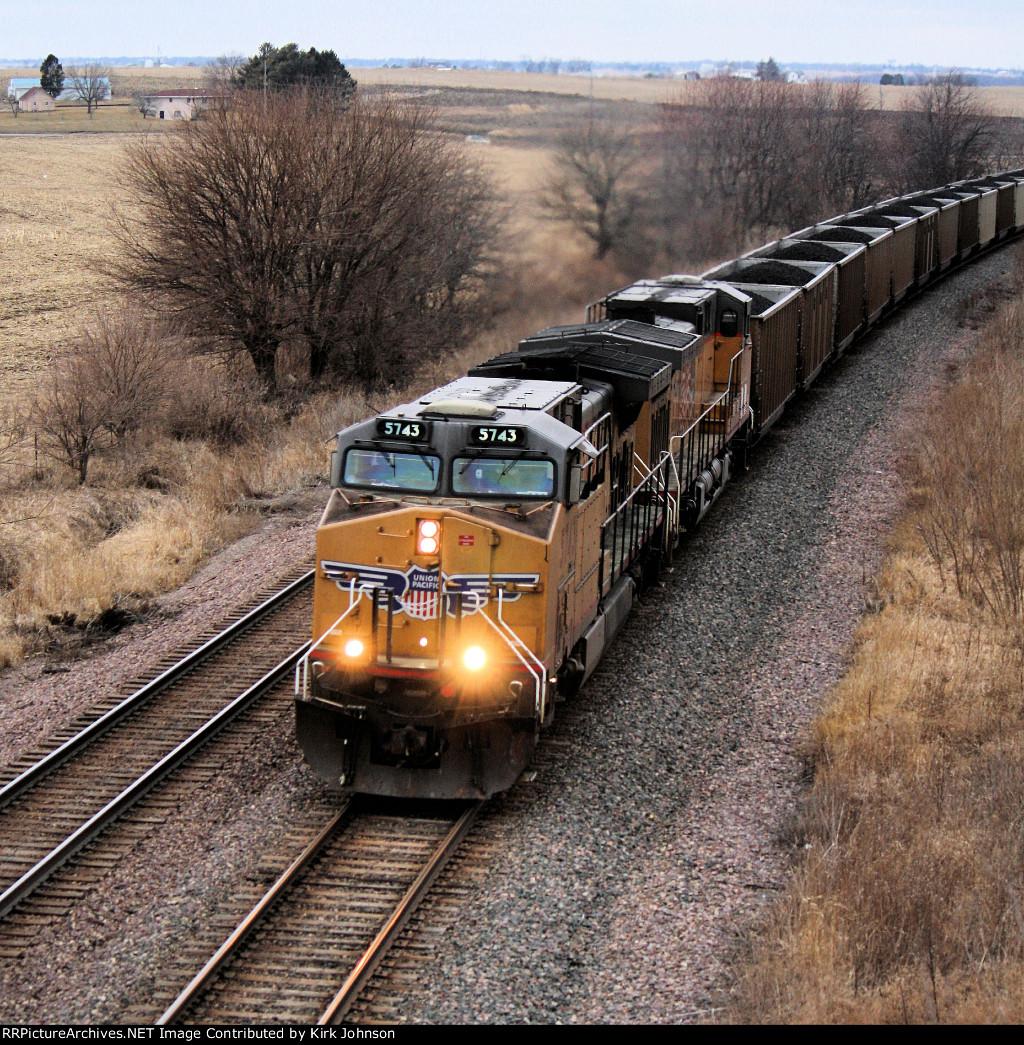 Eastbound UP Coal