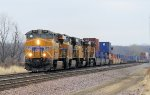 Westbound UP Stack switching mainlines
