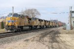 Eastbound UP Stack with 10 Unit Power Move