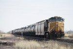 Eastbound UP Freight DPU