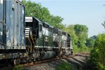 NS SD40-2 3383 on 65J