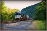 NS SD60M 6787 leads 21T
