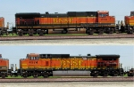 BNSF 1050 and 4974