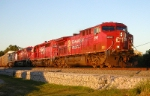 CP 8501 NS 29T entering the tranfer track off the Wabash Line