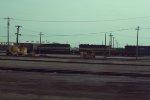 Locomotives and MofW cars