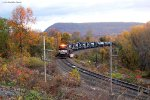 NS SD70M-2 2723 w/ 34 coming off the Rockville Bridge