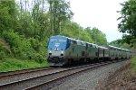 Amtrak P42 147 leads the Cap