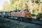 BNSF C40-8W 796
