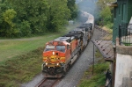 EB NS 214 led by BNSF @ 0732 hrs.