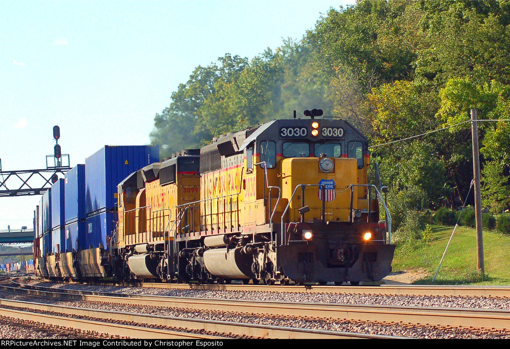 UP SD40-2 3030
