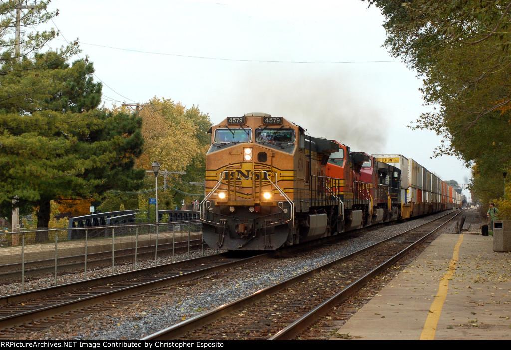 BNSF 9-44CW 4579