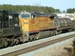 UP 9555 on train Q669