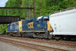 CSX GP38-2's 2615 and 2811 on C770-03