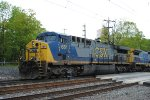 CSX 661 on the rear of X088-07