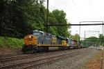 CSX 811 leads Q702-14