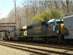 CSX 8665 Q410-16