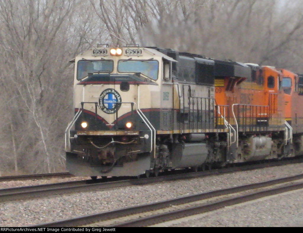 BNSF 9533