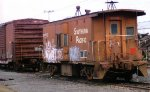SP/UP caboose at Salem,Oregon