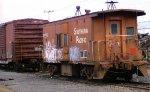 SP/UP caboose at Salem,Oregon