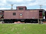 Byesville Scrnic Railway Caboose
