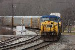 CSXT B24615 Shoving Q26114