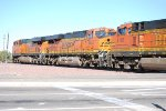 BNSF 6622 rolls westbound as a # 2 unit on a Z-Train heading towards BNSF Barstow yard for a crew change.