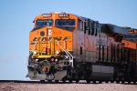 BNSF 6643 rolls into the BNSF Barstow Yard off the Mojave Connecter from a run from Bakersfield, CA.