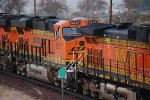 BNSF 6639 heads eastbound pulling a Z as the # 3 unit in a consist of 4 Locomotives. (Too Bad she was not the Leader :(((. )