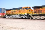 BNSF 6644 a 14 day old Very Brand New ES44C4 rolls east as a # 4 unit on a Z-Train.
