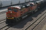 BNSF 9270 leads a loaded coal out of streator