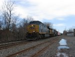 CSX Mixed Freight approaches Front St.