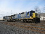 CSX C40-8 leads Q300 With a Great Engineer