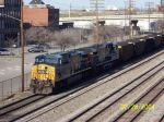 CSX Coal train T102 southbound
