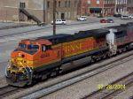 BNSF 4846 leads southbound CSX train 183