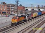 CSX train 183 heads south