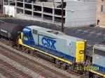 Closeup of CSX 2226 on train 684