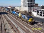 CSX 531 leads 8 engines on CSX train 684