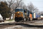 CSX 5350, westbound CSX train L115