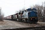 IC 2460, northbound CN grain train