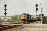 UP 4179, eastbound CSX train Q374-12