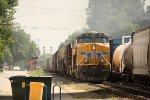 UP 7721, westbound CSX train Q686-13