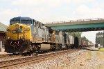 CSX 390, westbound CSX train Q639-12