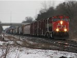 CN 5713 east at Ingersoll.