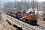 Eastbound BNSF Stack DPU