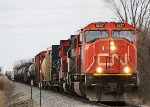 CN 5637 South on the J