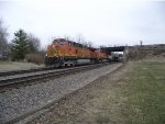BNSF 4084 and 7506