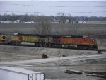 BNSF 5094 and 4434