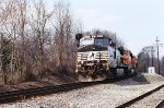 NS 9380, BNSF 6162 and BNSF 9143