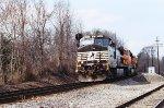 NS 9380, BNSF 6162 and BNSF 9143